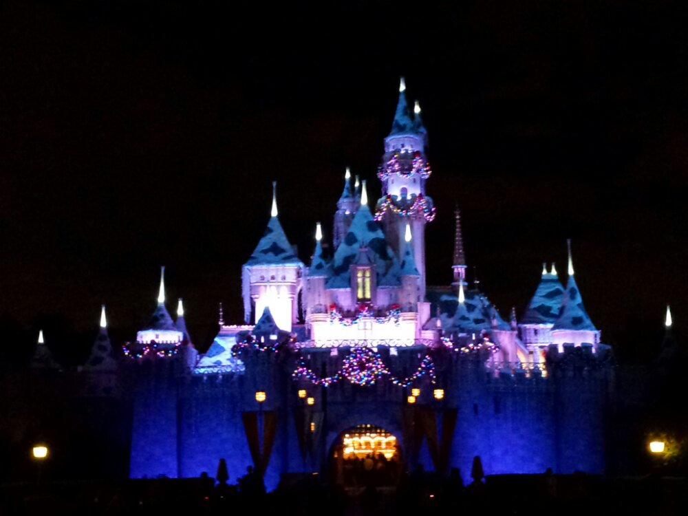 Sleeping Beauty Castle #DisneyHolidays