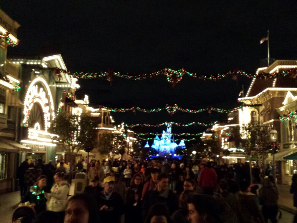 Main Street this evening
