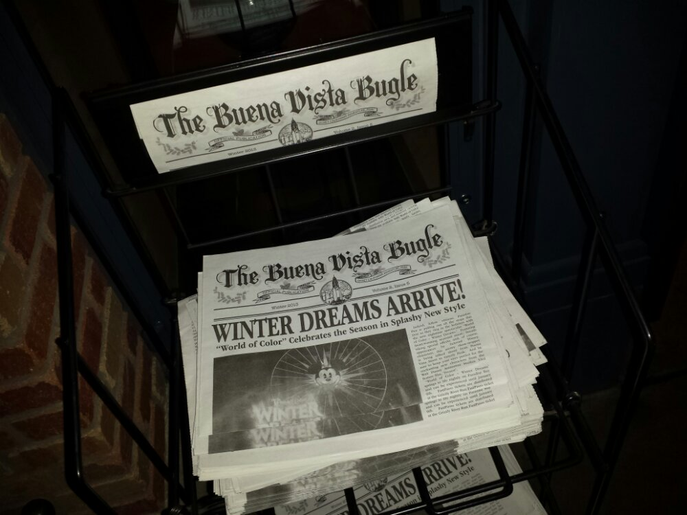The new winter edition of the Buena Vista Bugle hit news stands this afternoon