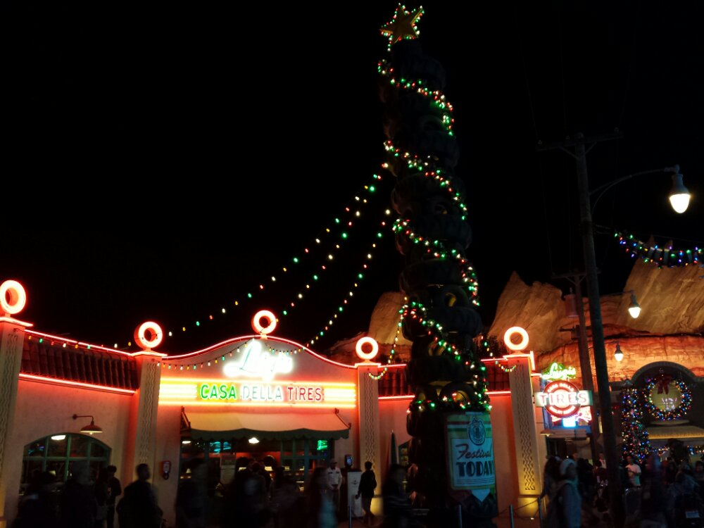 Luigis this evening #CarsLand #DisneyHolidays