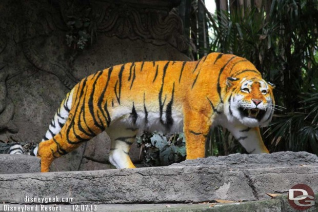 Jungle Cruise - The Tiger has returned to the ruins