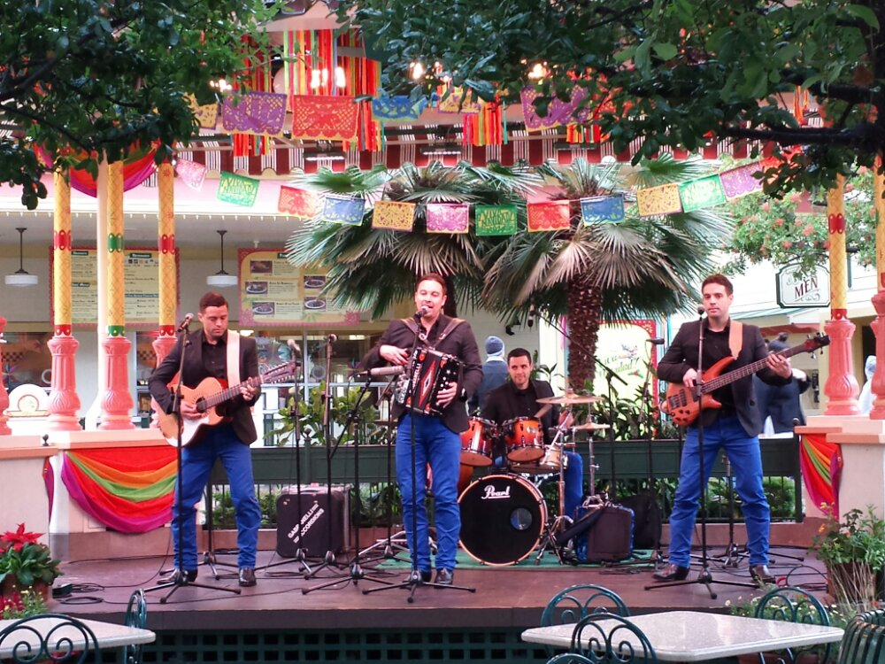 Hermanos Herrera performing at ¡Viva Navidad! #DisneyHolidays