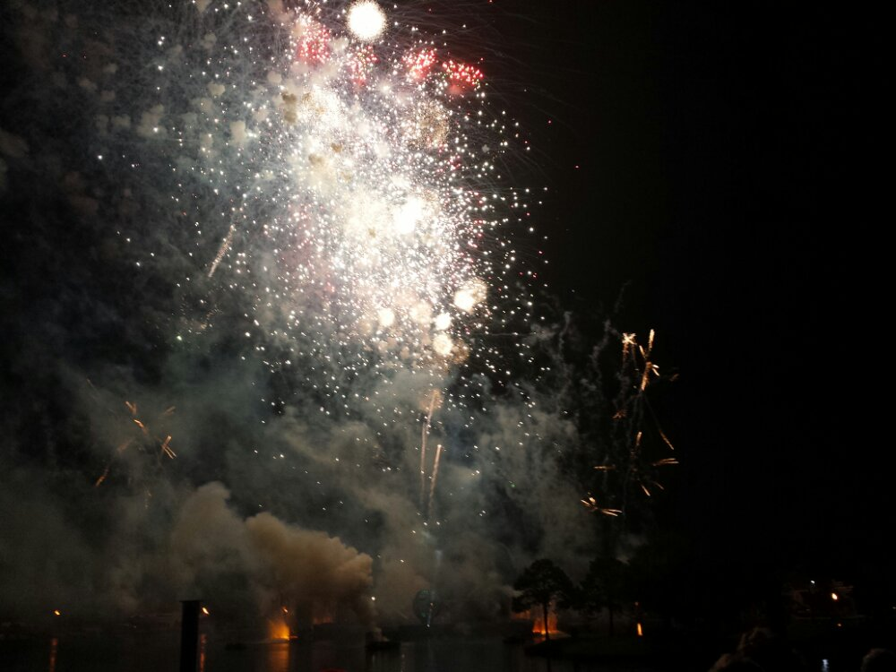 Illuminations Finale to close out my first day