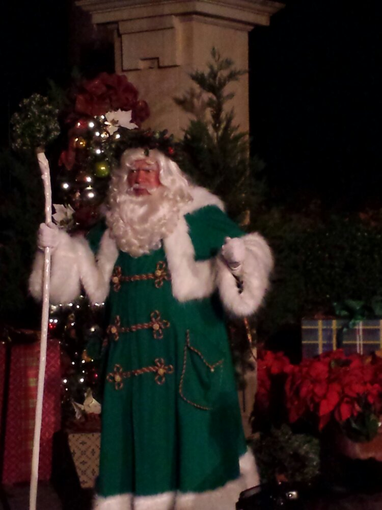Father Christmas in the United Kingdom at Epcot