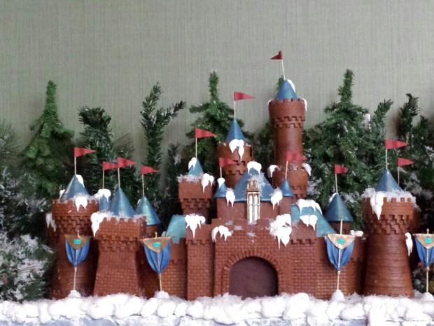 Sleeping Beauty Castle gingerbread