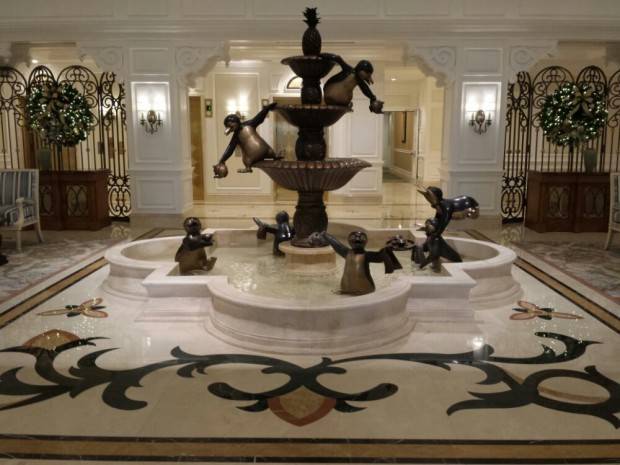 The Lobby of the Villas at the Grand Floridian