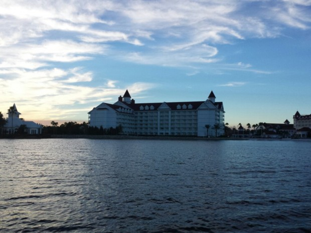 The Grand Floridian Villa building looks like a giant box to me