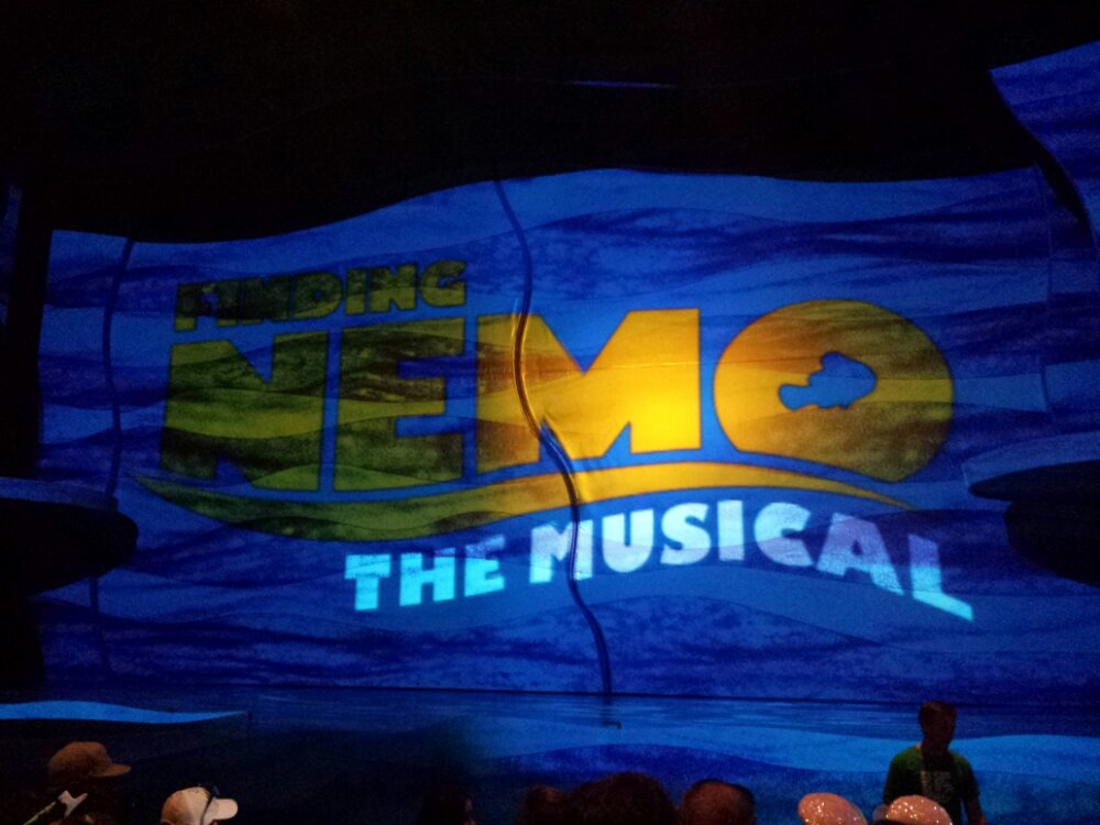 Next up, Finding Nemo the Musical