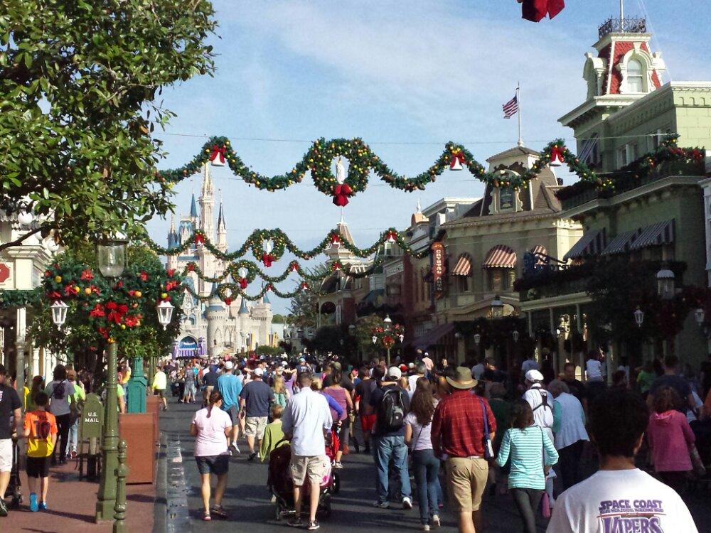 Main Street USA this morning #WDW