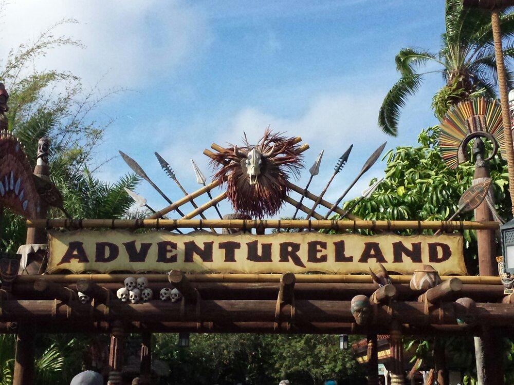 Magic Kingdom Adventureland Entrance