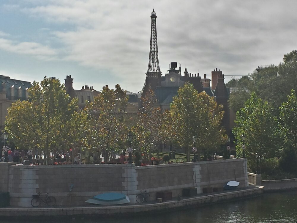 Approaching France in Epcot