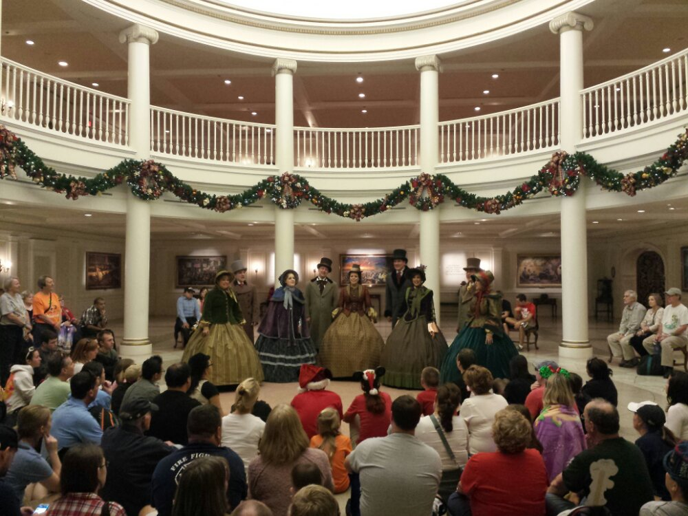 The Voices of Liberty performing at the American Adventure Epcot