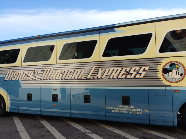 The Magical Express bus to end the trip