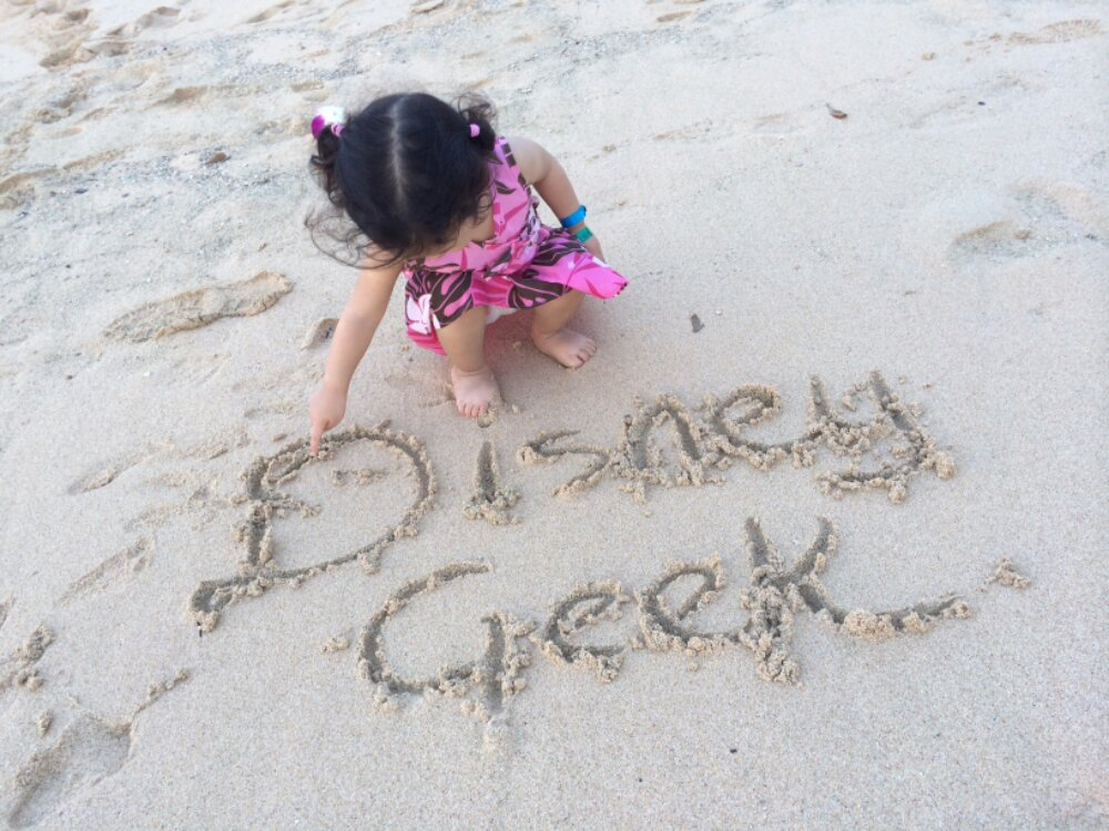 A greeting from one of our youngest fans from #Aulani  Thanks @daynah