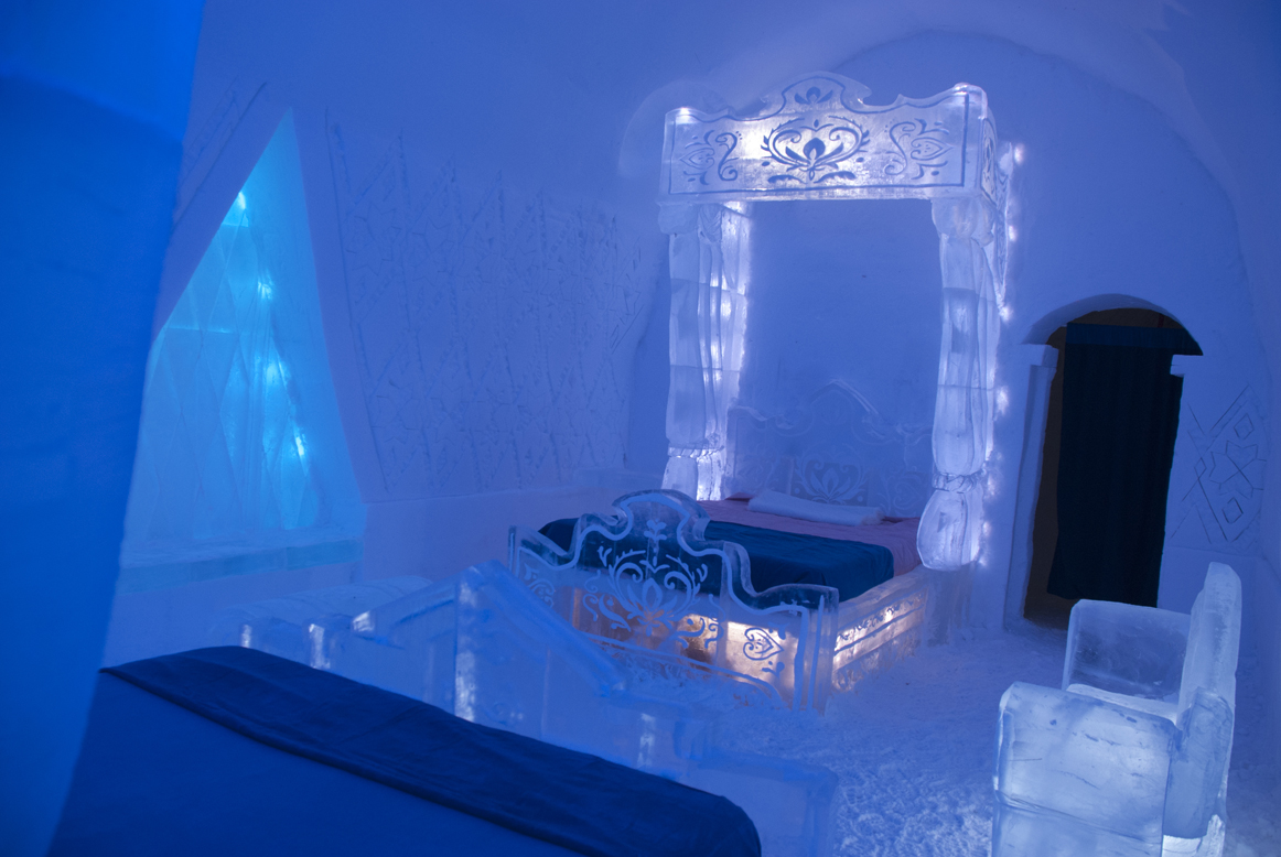 Press Release: Disney Unveils Frozen Themed Suite at Quebec City's Ice Hotel