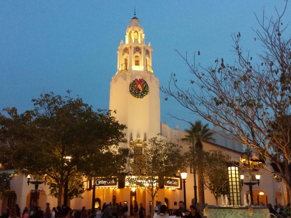 Carthay Circle as I was leaving the park
