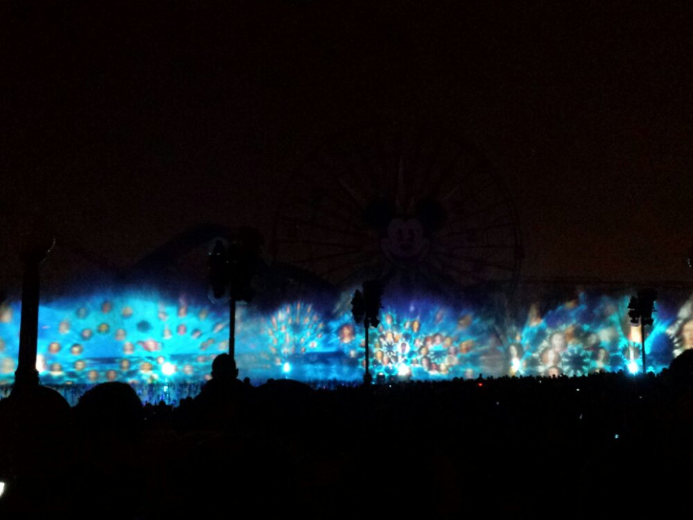 Time for World of Color Winter Dreams