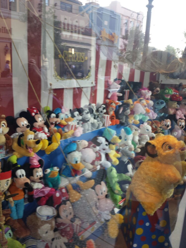 Unfortunately the windows are back to the way they were on #BuenaVistaStreet, this is Big Top Toys