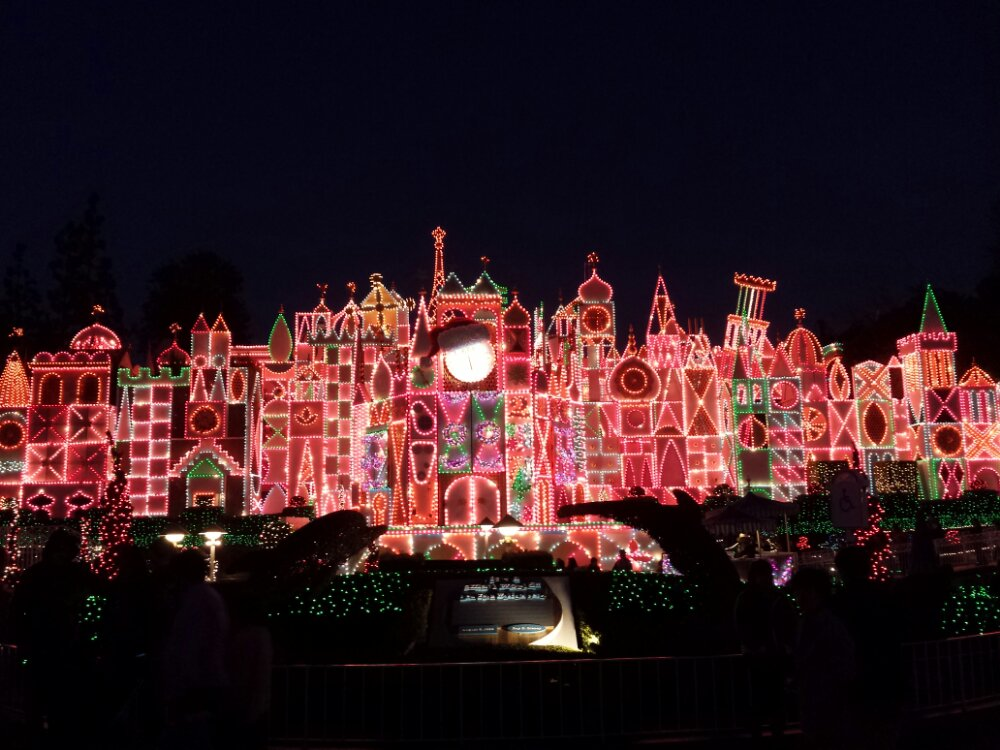 Small World Holiday this evening