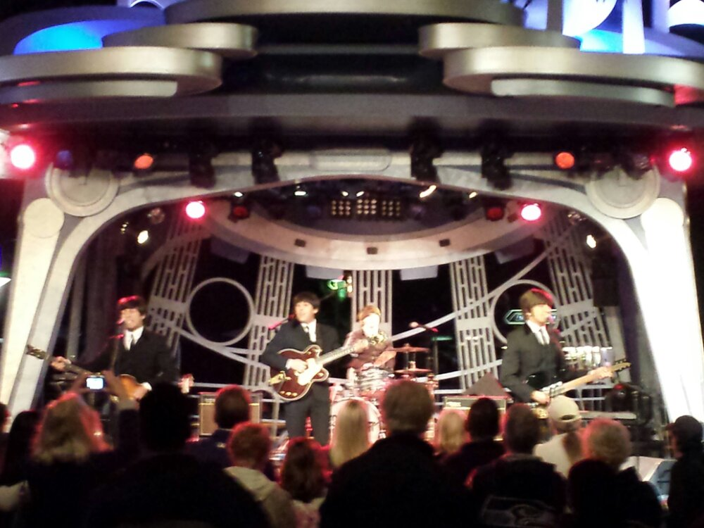Tonight on the Tomorrowland Stage – Hard Day's Night a tribute to the Beatles