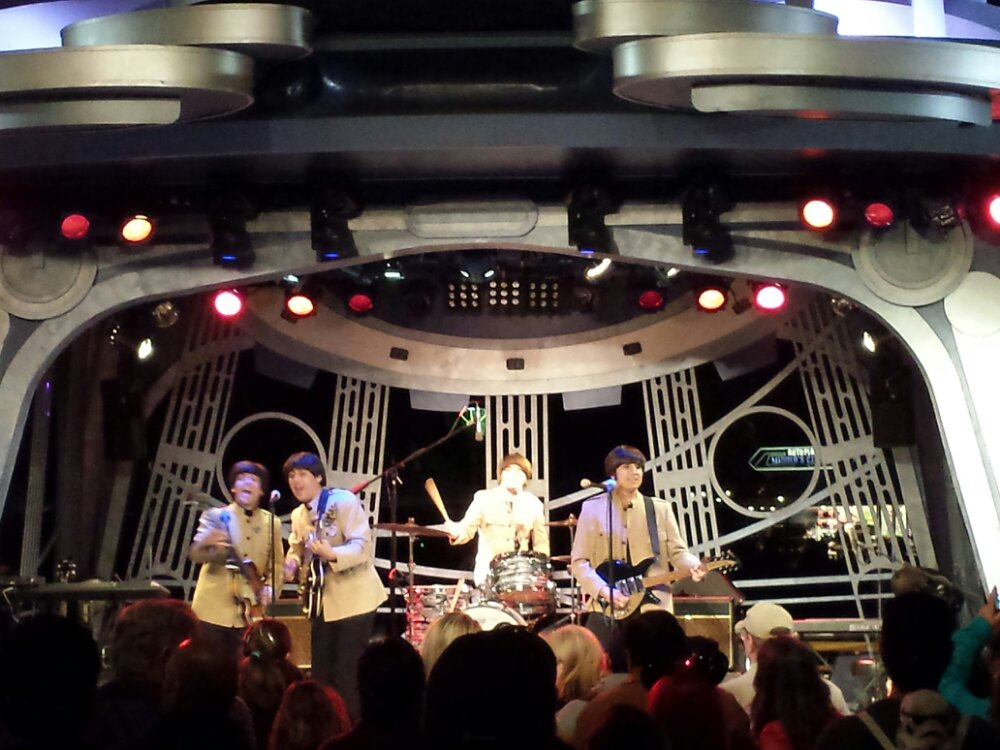 Back for Hard Day's Night a tribute to the Beatles 2nd set at the Tomorrowland Terrace