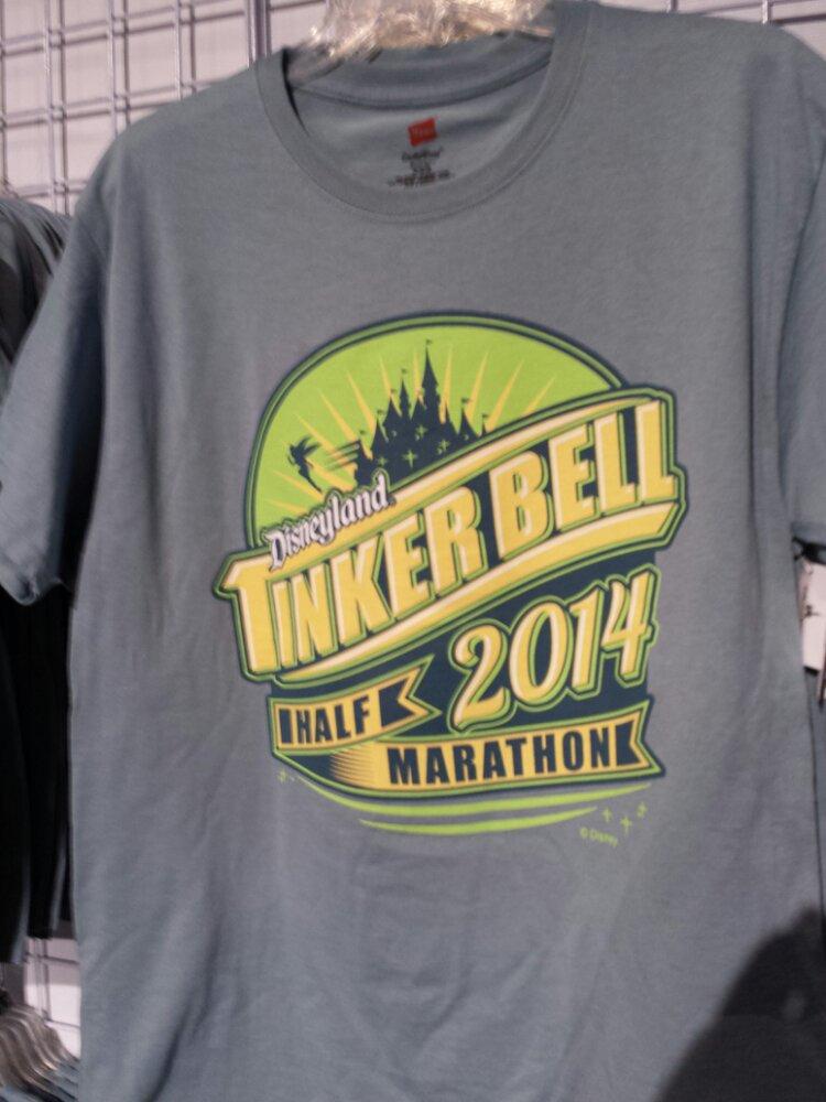 A Tinkerbell Half marathon shirt
