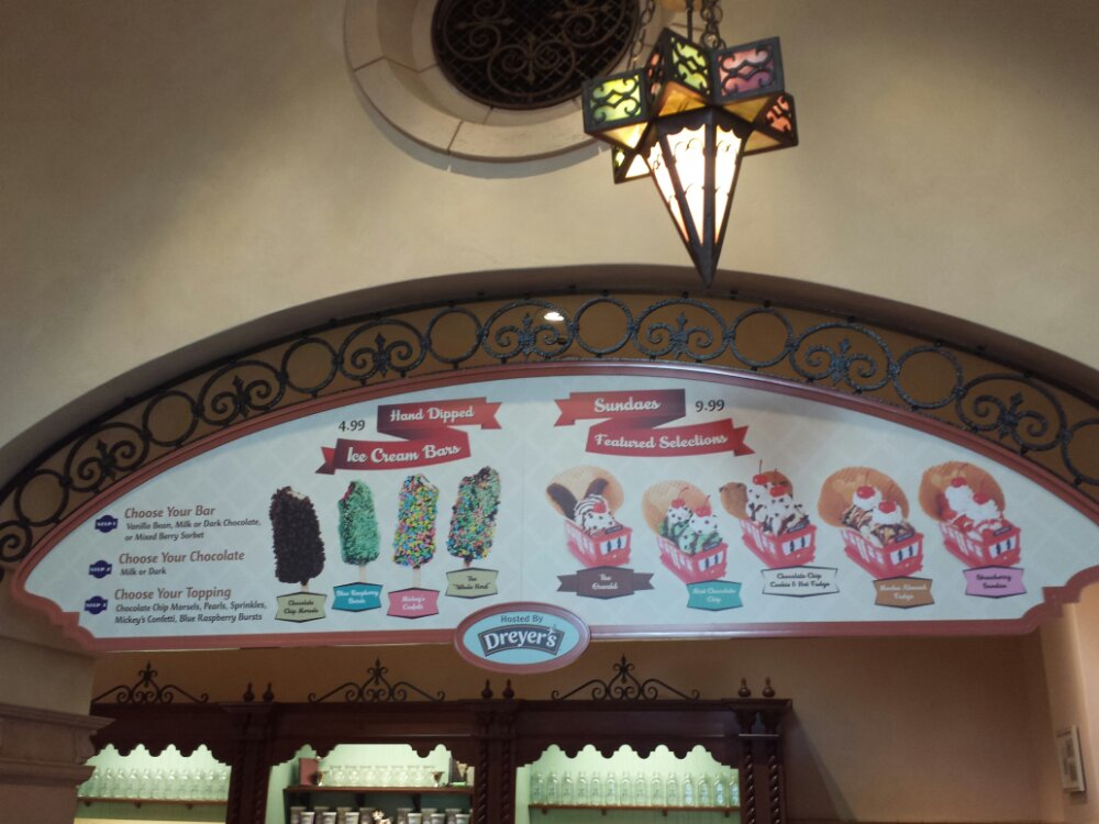 Clarabelles menu features pictures of the items, this change happened several weeks ago but I never stopped by.