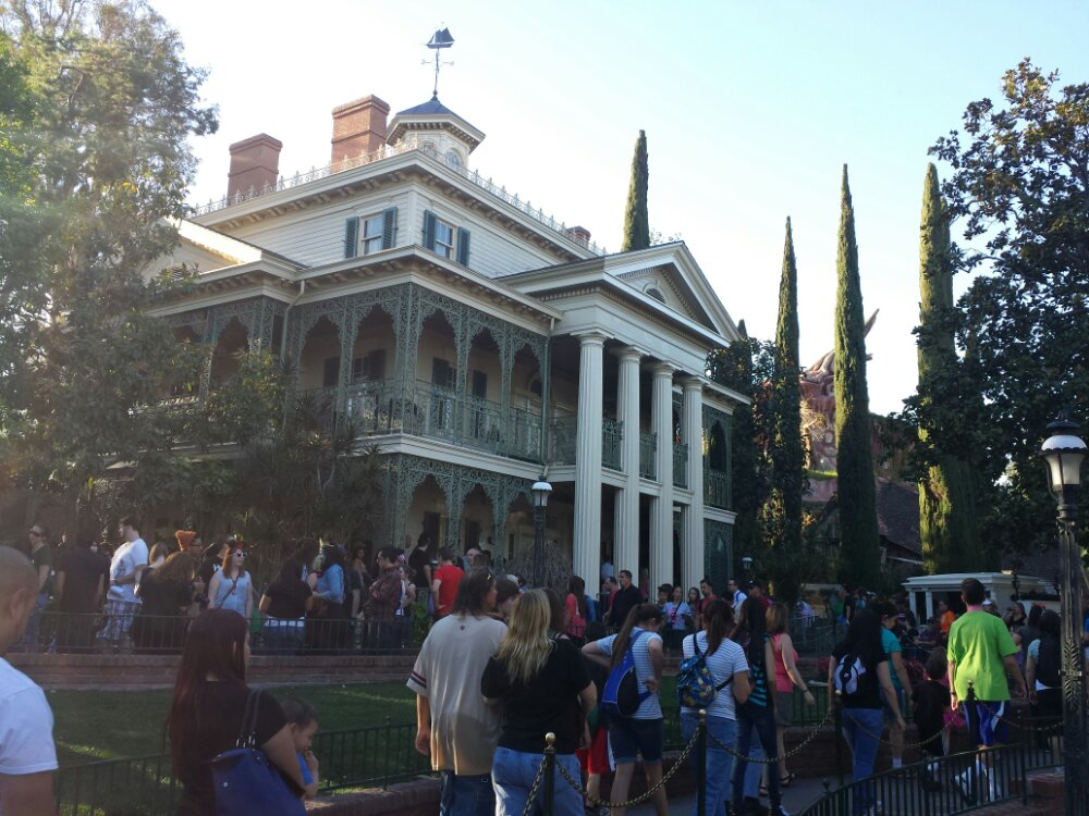 The Haunted Mansion has reopened a day early.  Currently a 35min wait.