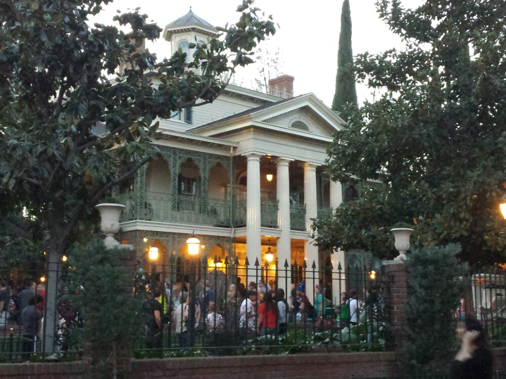 The Haunted Mansion reopened earlier today.  Current posted wait time is still 35min