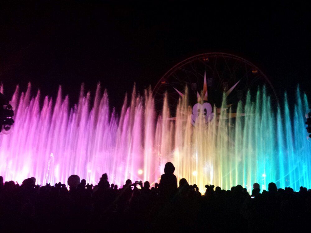 Nothing new in World of Color except some hiccups