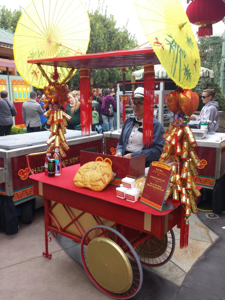 A food cart and Bayside Brews have special food items for Lunar New Year