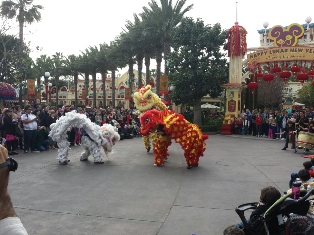 Another of the performing groups at the Lunar New Year Celebration