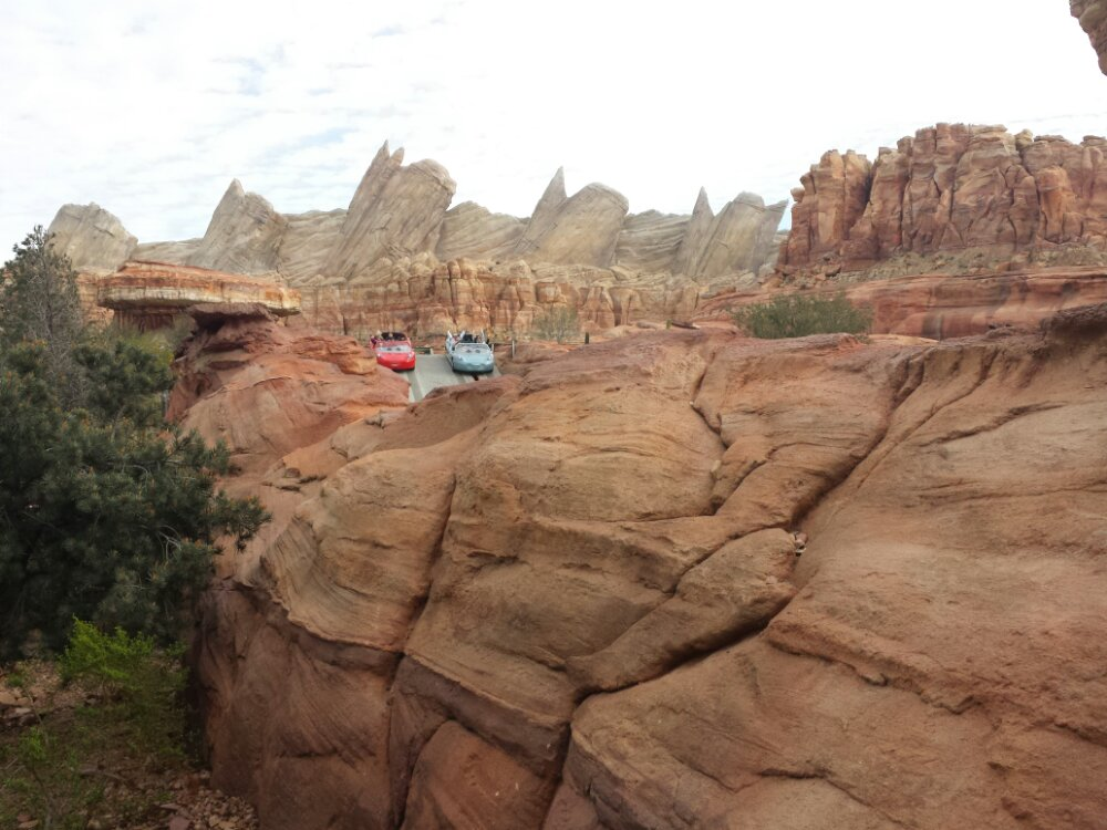 Ornament Valley this afternoon #CarsLand