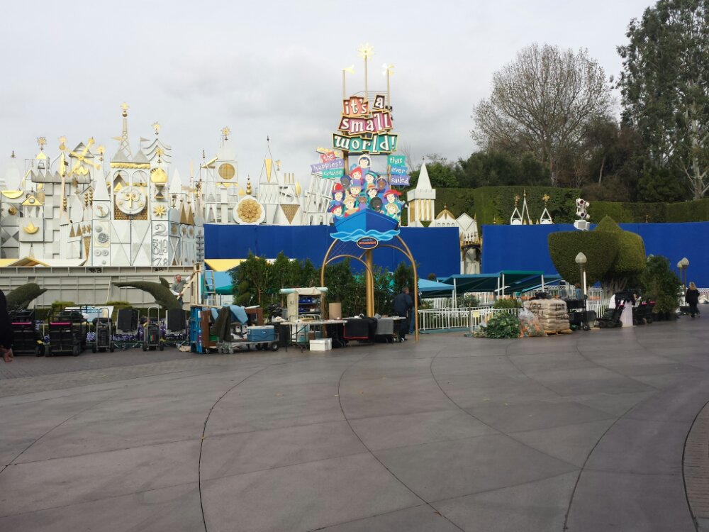Small World is being turned into a set for the upcoming film Tomorrowland