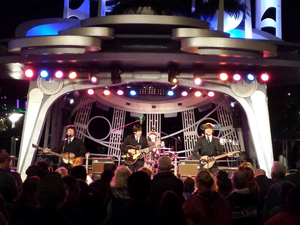 A Hard Day's Night a Tribute to the Beatles are performing at Tomorrowland Terrace tonight