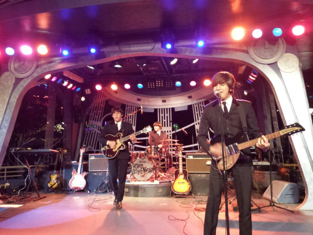 Back for a second set of Hard Day's Night a Tribute to the Beatles at the Tomorrowland Terrace