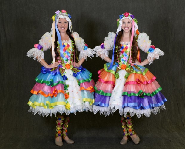 A Sneak Peek at Disney Festival of Fantasy Parade Costumes: Floral Maidens