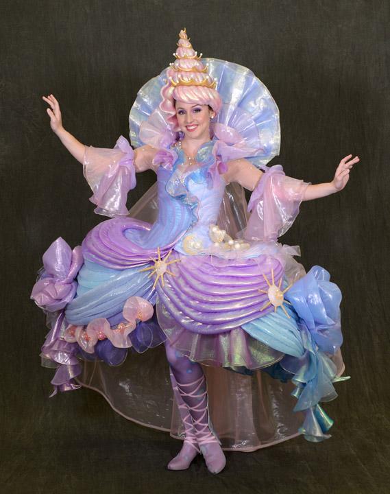A Sneak Peek at Disney Festival of Fantasy Parade Costumes: Seashell Girl