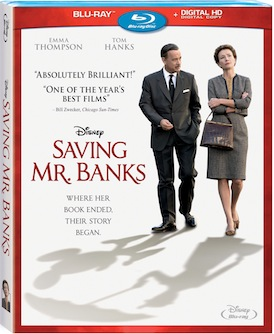 Saving Mr. Banks Arrives on Home Video March 18th – Details/Press Release/Clips