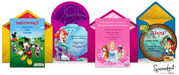 Party planning site Punchbowl launches Disney digital invitations collection (Press Release)