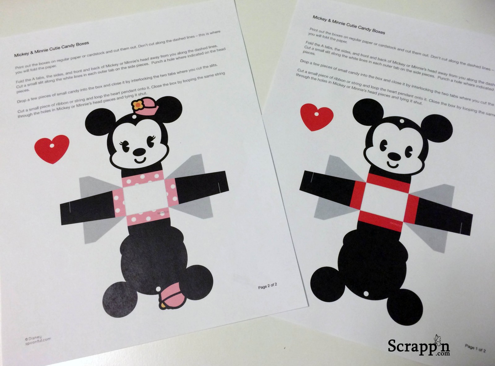 Spoonful.com Disney Valentine's Day Projects (Guest Blogger)