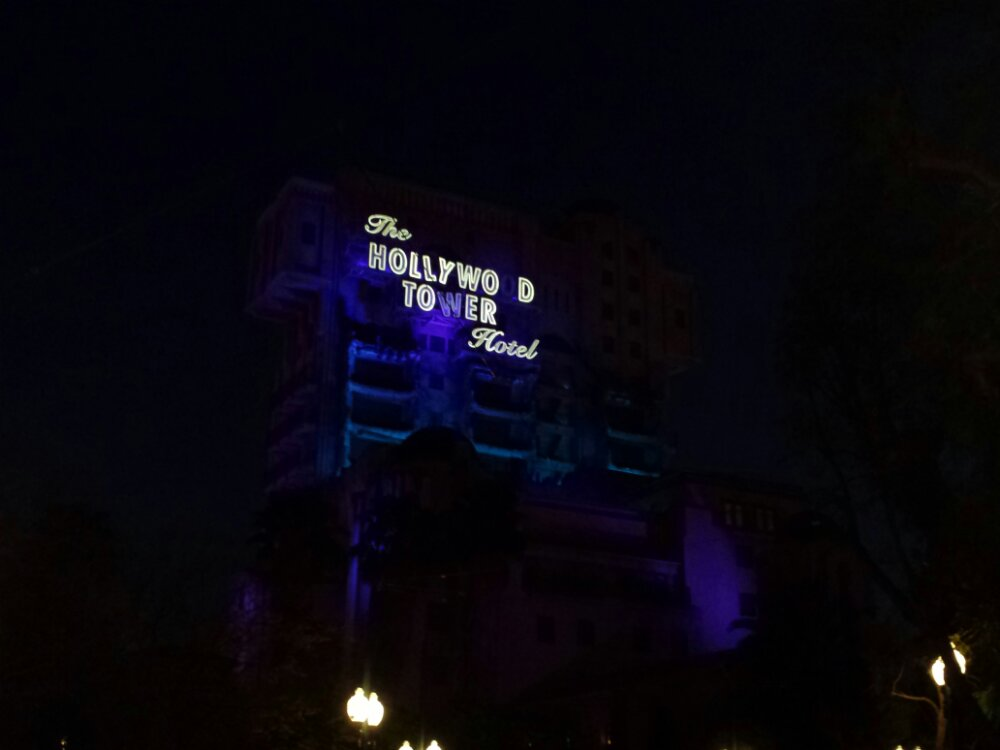 Saw a tweet earlier this week noting 10 years since the sign for the Tower of Terror was first lit up.