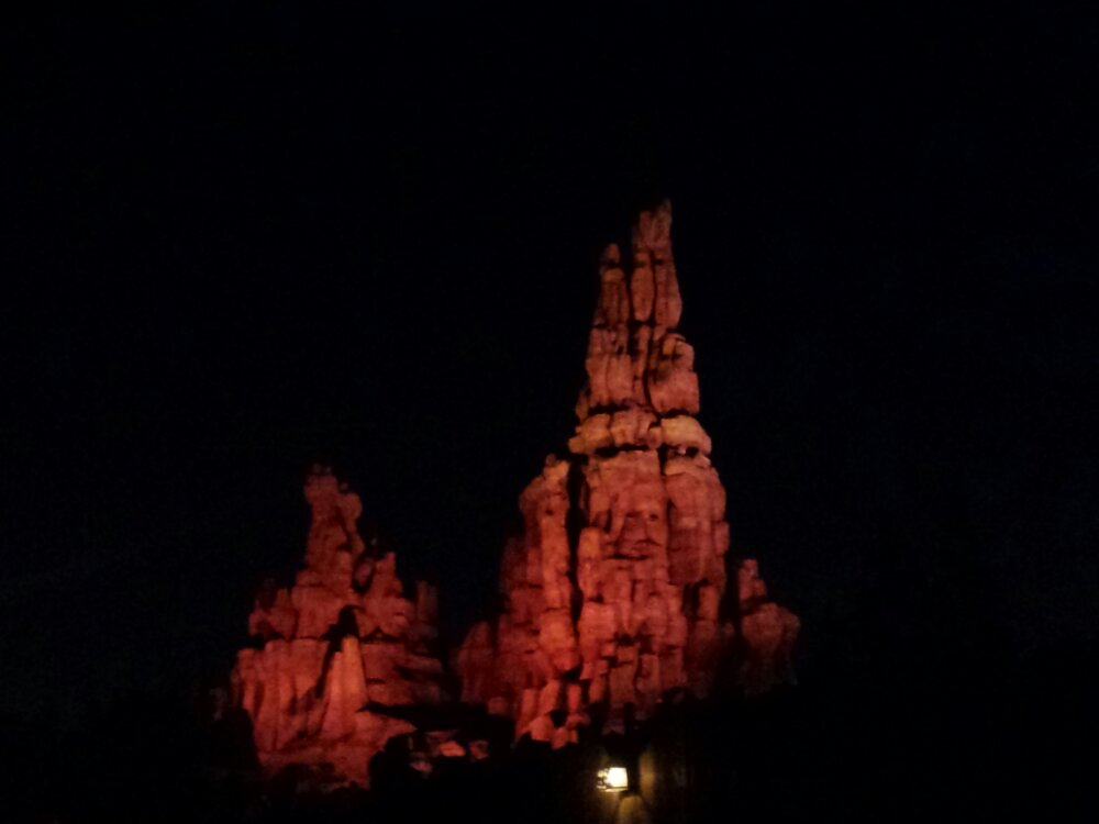 Big Thunder – you can hear them cycling some trains this evening