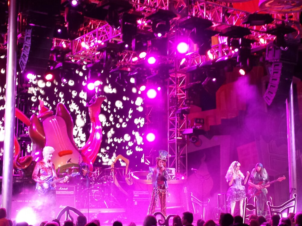 The #MadTParty Band on the main stage