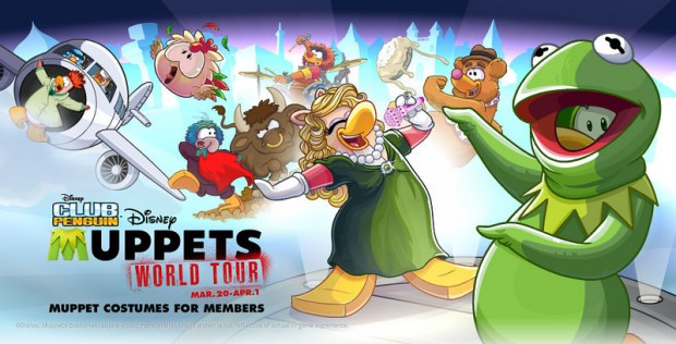 Club Penguin Muppets World Tour Event
