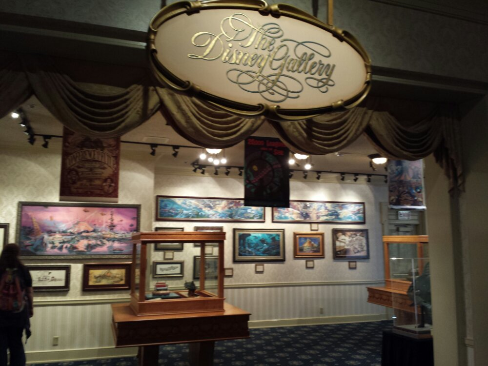 The current Disney Gallery space in the Opera House Lobby features Mechanical Kingdoms