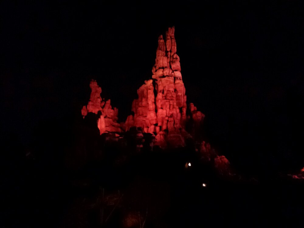 Cast Member previews of Big Thunder continue this evening.   Today it was announced it will reopen on the 17th