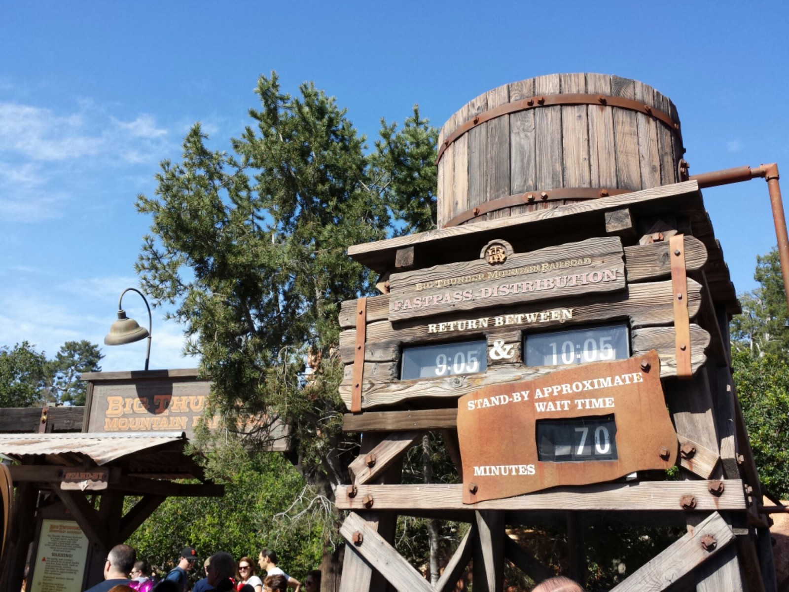 Big Thunder has returned.  A 70min wait and Fastpass return on 6 hours