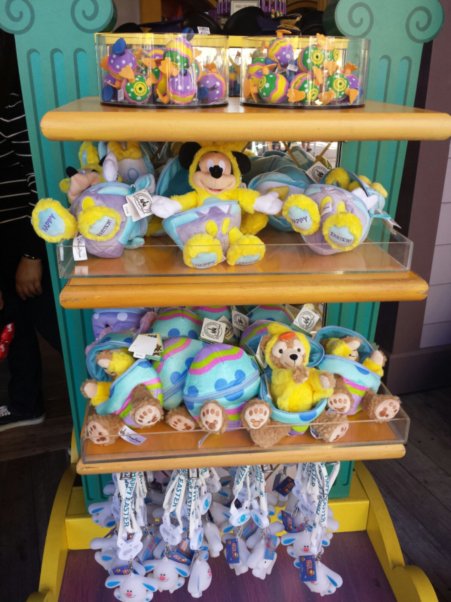 Some Easter merchandise at Boardwalk Bazaar
