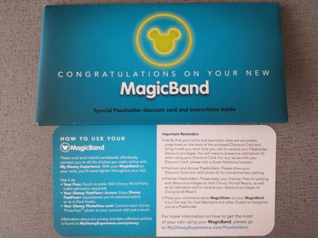 Annual Passholder MagicBand instructions